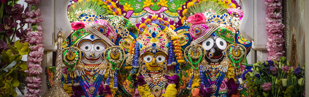Jagannath, Baladev, Subhadra - Gaura Purnima 2020