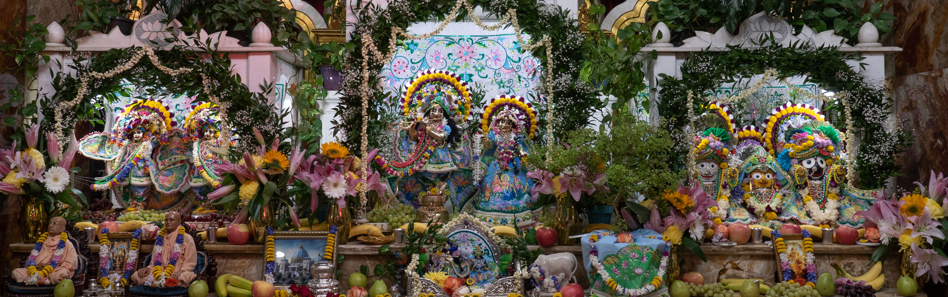 Gaura Purnima 2021 - Altar