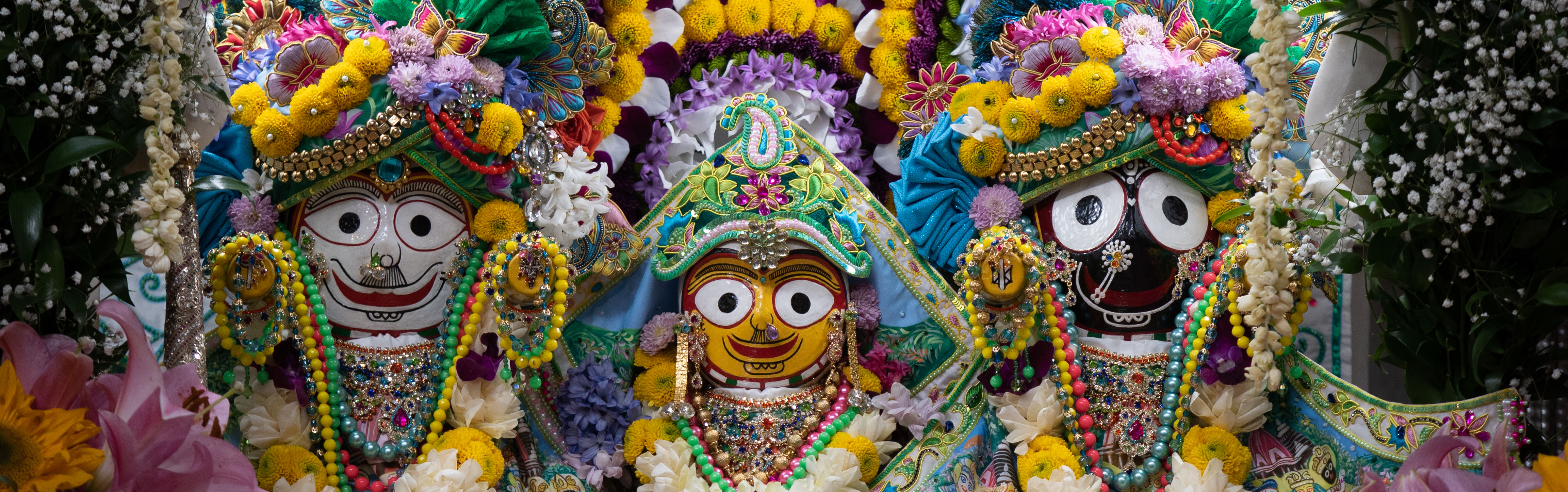 Gaura Purnima 2021 - Jagannath, Baladev and Subhadra